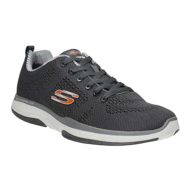 Graue, sportliche Sneakers skechers, Grau, 809-2330 - 13