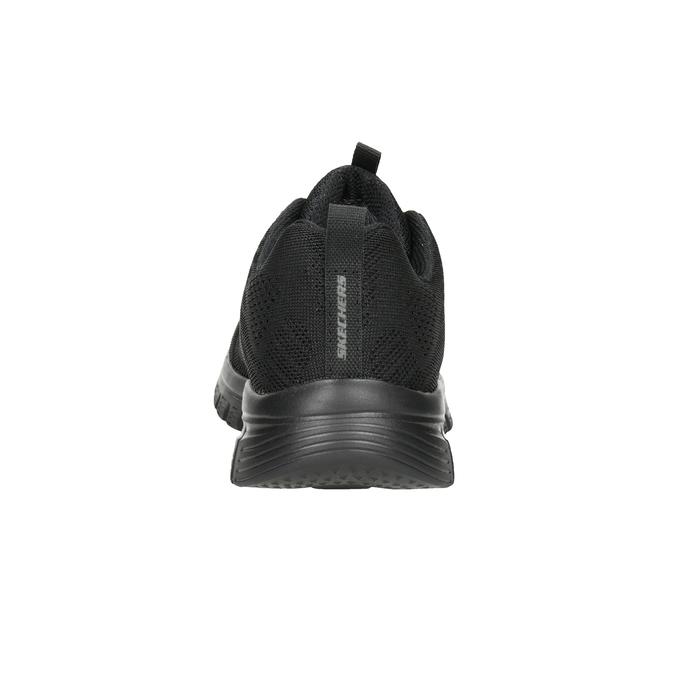Schwarze, sportliche Damen-Sneakers mit Perforation, Schwarz, 509-6318 - 16