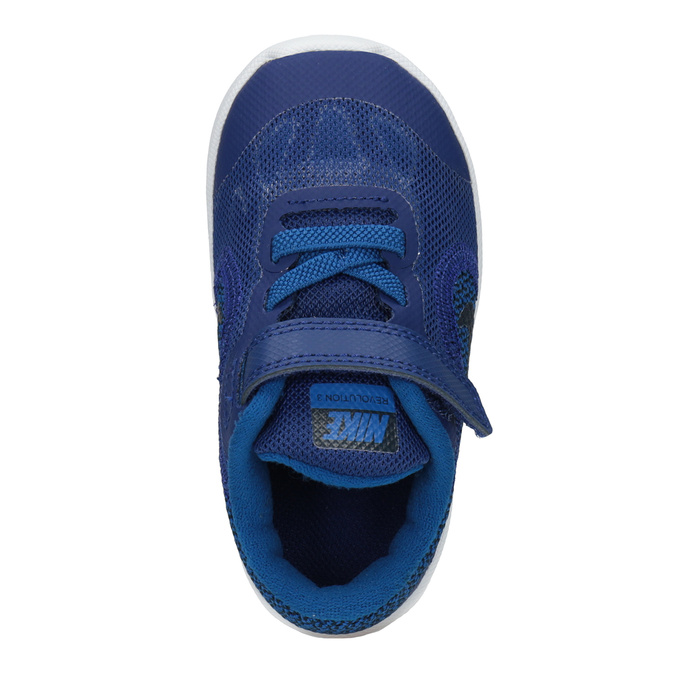 Blaue Kinder-Sneakers nike, Blau, 109-9132 - 15