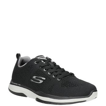 Schwarze Herren-Sneakers skechers, Schwarz, 809-6330 - 13