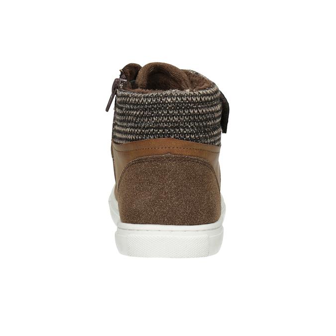 Knöchelhohe Kinder-Sneakers, Braun, 491-4013 - 16