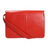 Rote Lederhandtasche vagabond, Rot, 964-5086 - 26
