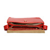 Rote Lederhandtasche vagabond, Rot, 964-5086 - 15