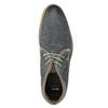 Herren-Knöchelschuhe aus Leder bata, Blau, 826-9920 - 15