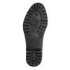 Damenstiefel mit Steppung bata, Schwarz, 592-6401 - 19
