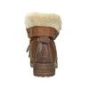 Stiefeletten mit Fell bata, Braun, 591-4618 - 17