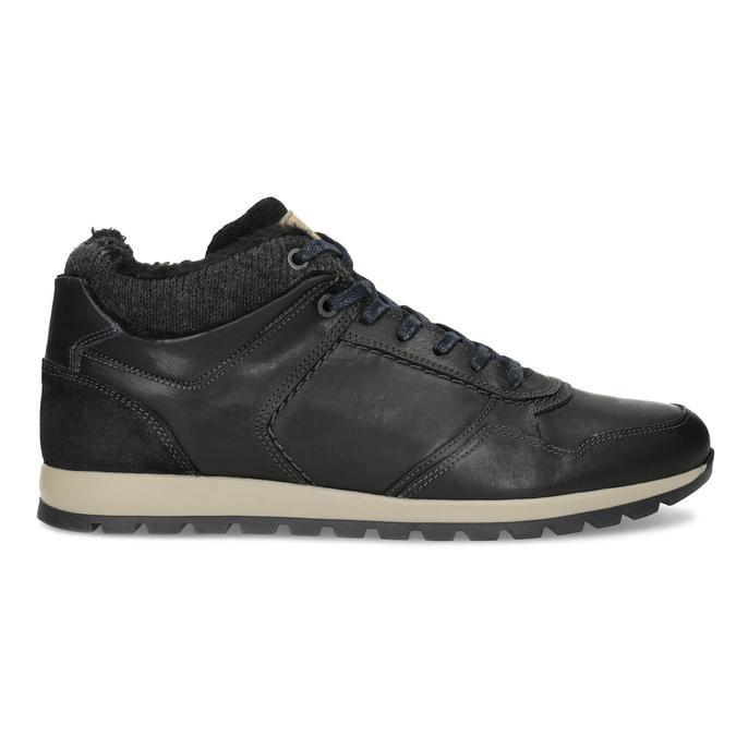 Herren-Winter-Sneakers bata, Schwarz, 846-6646 - 19