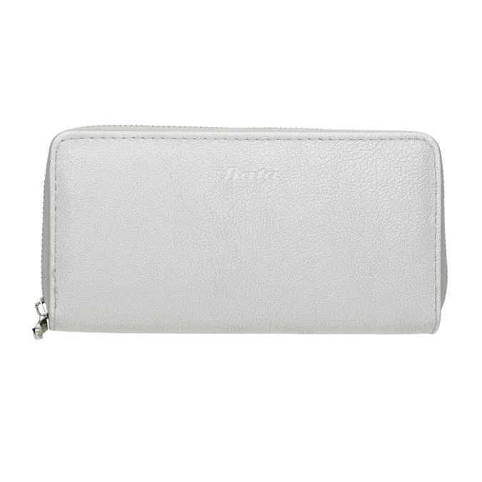 Silberne Damen-Geldbörse bata, Silber , 941-2155 - 26