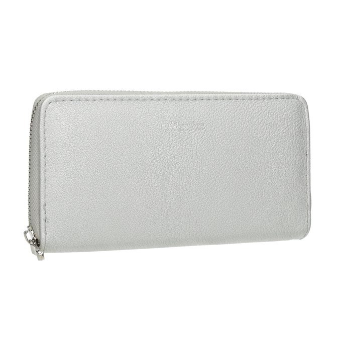 Silberne Damen-Geldbörse bata, Silber , 941-2155 - 13