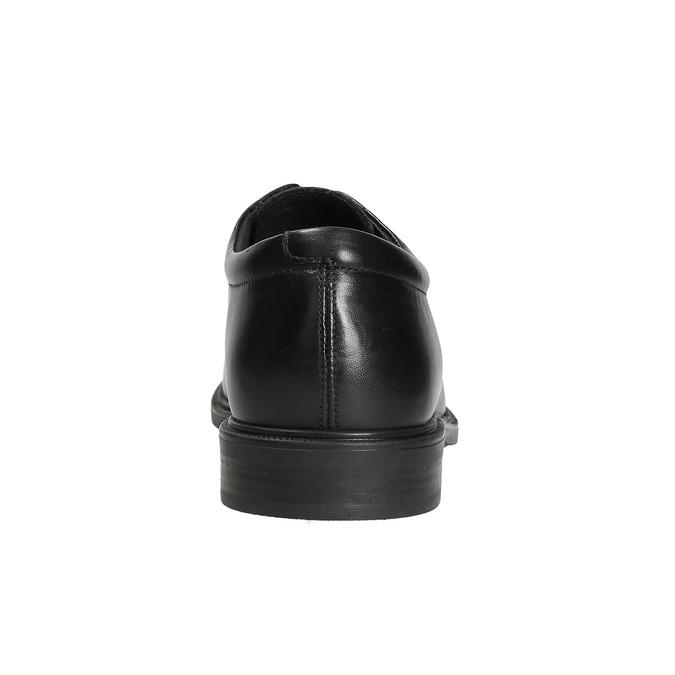 Herrenhalbschuhe aus Leder climatec, Schwarz, 824-6986 - 16