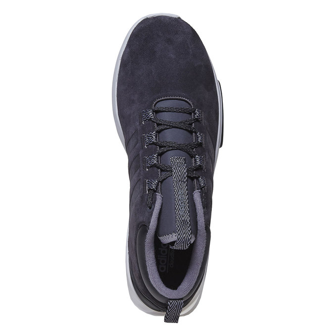 Herren-Sneakers aus Leder adidas, Schwarz, 803-6202 - 19
