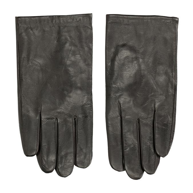 Braune Lederhandschuhe bata, Braun, 904-4130 - 26