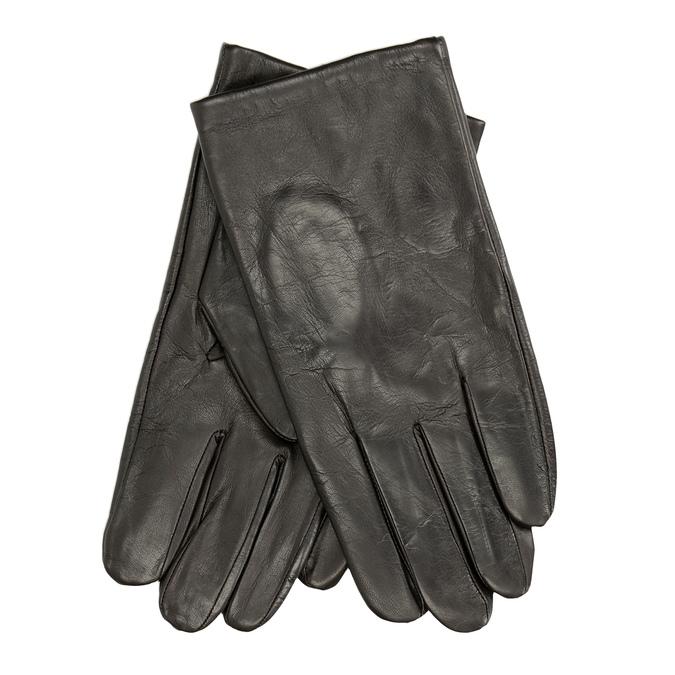 Braune Lederhandschuhe bata, Braun, 904-4130 - 13