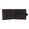 Herren-Geldbörse aus Leder, Braun, 944-4202 - 15