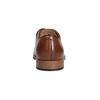 Herrenhalbschuhe aus Leder mit stärkerer Sohle bata, Braun, 826-3809 - 15