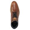 Herren-Knöchelschuhe aus Leder bata, Braun, 826-3925 - 15