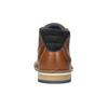 Herren-Knöchelschuhe aus Leder bata, Braun, 826-3925 - 16