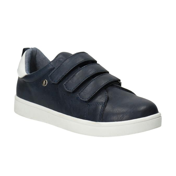 Legere Kinder-Sneakers mit Klettverschlüssen mini-b, Blau, 411-9609 - 13