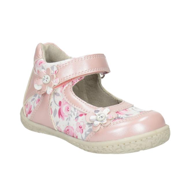 Gemusterte, rosa Ballerinas bubblegummer, 121-5621 - 13