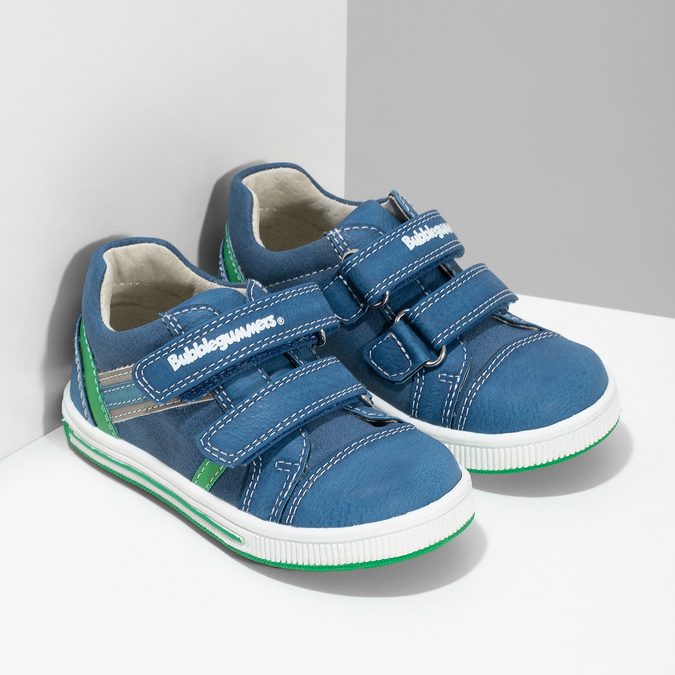 Legere, blaue Kinder-Sneakers bubblegummer, 111-9625 - 26