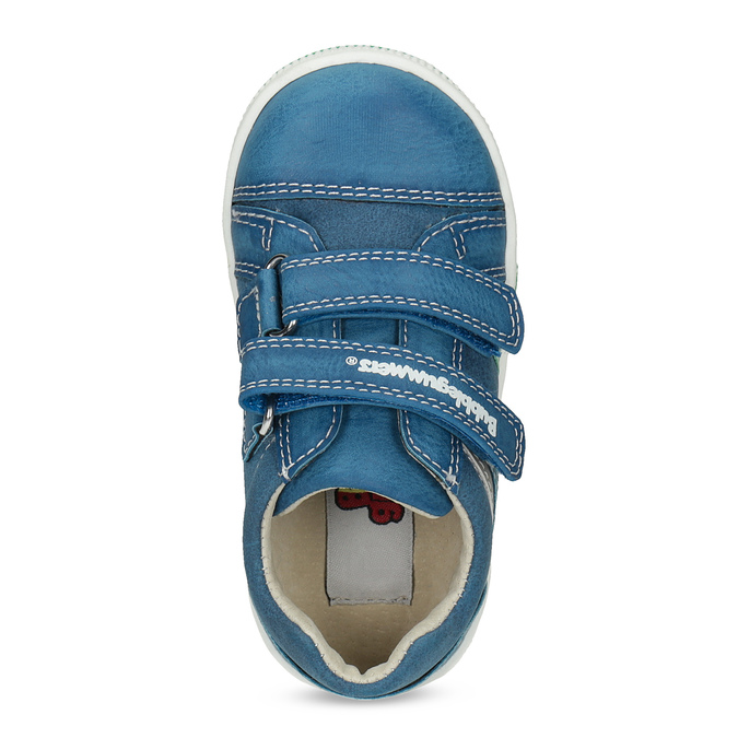 Legere, blaue Kinder-Sneakers bubblegummer, Blau, 111-9625 - 17