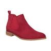 Rote Lederstiefeletten bata, Rot, 593-5611 - 13