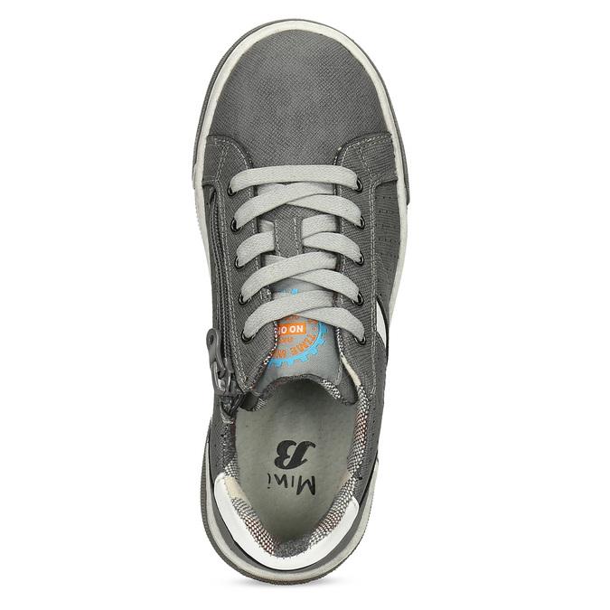Kinder-Sneakers mit Perforation mini-b, Grau, 411-2102 - 17