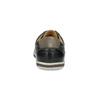 Herren Leder-Sneakers bata, Schwarz, 846-6617 - 15