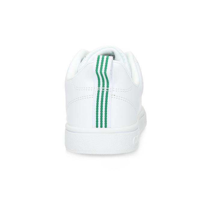 Weisse Sneakers mit grünen Details adidas, Weiss, 501-1300 - 15
