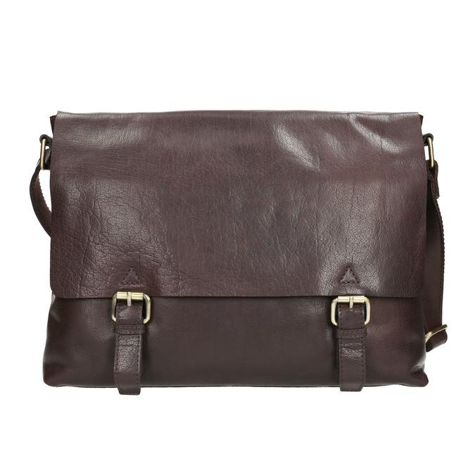 Herrentasche aus Leder bata, Braun, 964-4235 - 17