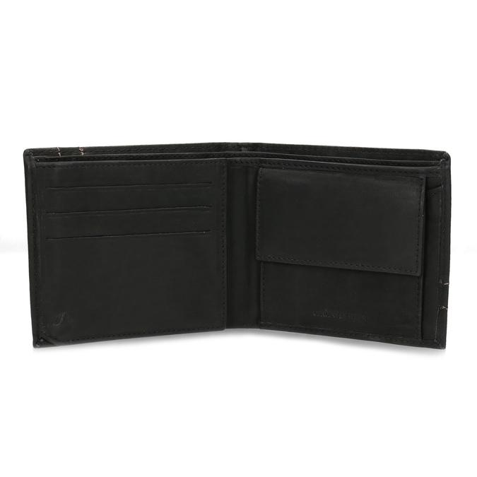 Herren-Geldbörse aus Leder bata, Braun, 944-6147 - 15